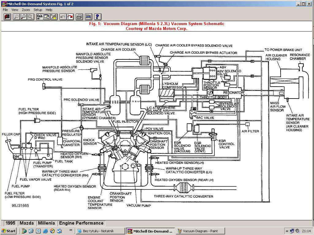 2001 Mazda Millenia Engine Diagram Wiring Libraries Housing Vacuum Simple Diagrammillenia S Diagrams Technical Guides Mazdaworld Bongo